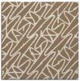 rug #424417 | square mid-brown rug