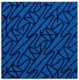 rug #424433 | square blue abstract rug