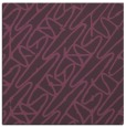 rug #424489 | square purple abstract rug