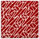rug #424505 | square red graphic rug