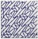 rug #424545 | square blue rug