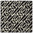 rug #424573   square black graphic rug