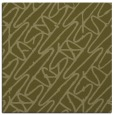 rug #424597 | square light-green graphic rug