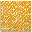 rug #424601 | square light-orange abstract rug