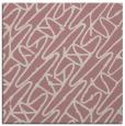 rug #424605   square pink rug