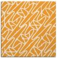 rug #424613 | square light-orange abstract rug