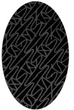 rug #424625 | oval abstract rug
