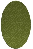 rug #424655 | oval abstract rug
