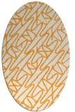 rug #424966 | oval graphic rug