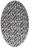 rug #424967   oval abstract rug