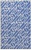 rug #425009    blue abstract rug