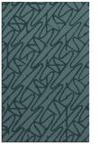 rug #425041 |  blue-green abstract rug