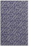 rug #425057    blue-violet graphic rug