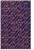 rug #425061 |  pink graphic rug
