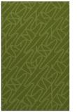 rug #425093 |  green abstract rug