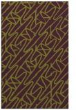 rug #425197 |  purple abstract rug