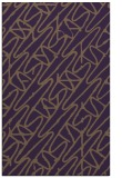 rug #425201 |  mid-brown graphic rug