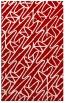 rug #425209 |  red popular rug