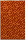 rug #425225 |  red-orange rug