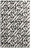 rug #425241 |  white graphic rug