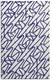 rug #425249 |  blue abstract rug