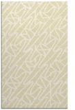 rug #425261    yellow abstract rug