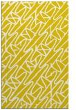 rug #425269 |  yellow popular rug