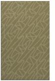 rug #425293 |  light-green abstract rug