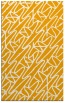 rug #425305 |  light-orange abstract rug