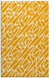 rug #425305    light-orange abstract rug