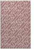 rug #425309 |  pink graphic rug