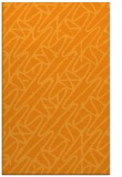 rug #425313 |  light-orange popular rug