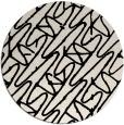 rug #425397 | round graphic rug