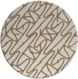rug #425474 | round abstract rug