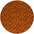 rug #425585 | round abstract rug