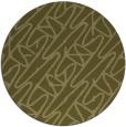 rug #425653 | round light-green graphic rug