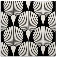 rug #426029 | square black retro rug