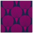 rug #426053 | square blue graphic rug