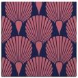 rug #426117 | square blue-violet retro rug
