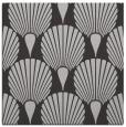 rug #426225 | square orange graphic rug