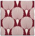 rug #426237   square pink retro rug
