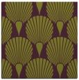 rug #426253 | square green retro rug