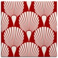 rug #426265 | square red graphic rug