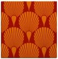 rug #426269 | square orange graphic rug