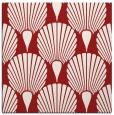 rug #426273 | square red retro rug