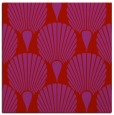 rug #426277 | square red graphic rug