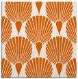 rug #426293   square red-orange retro rug