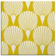 rug #426325 | square yellow retro rug