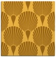 rug #426329 | square yellow retro rug