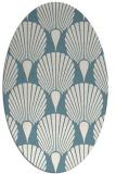 rug #426402 | oval retro rug